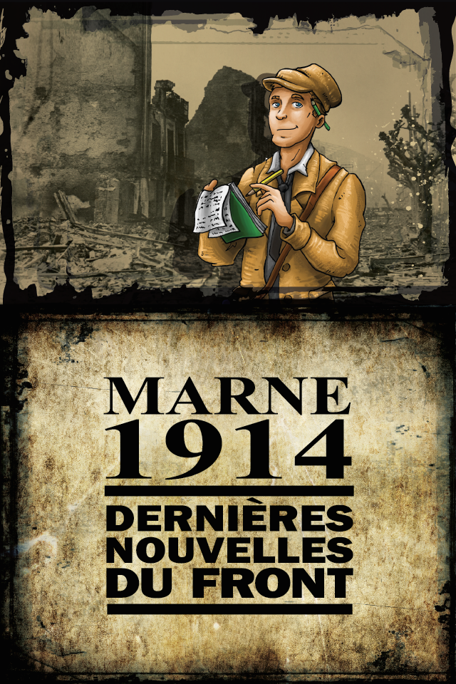 Serious game application marne 1914