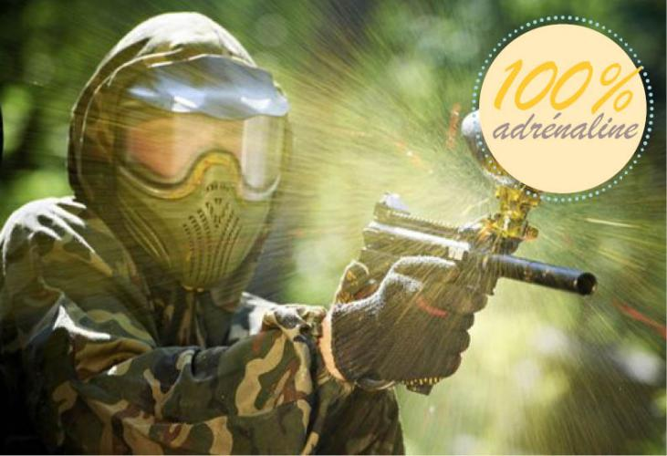 Paintball et laser-game