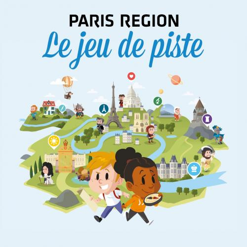 Application Paris Region Aventure : Le jeu de piste
